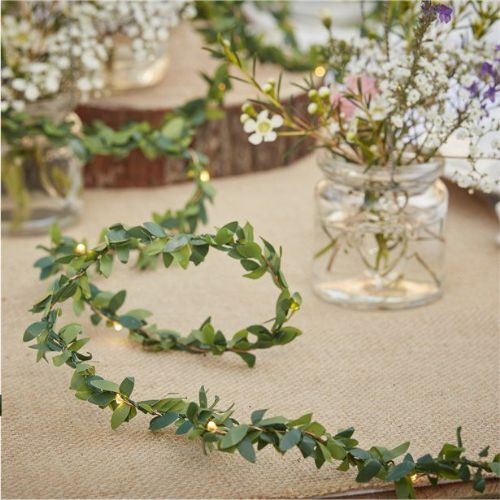 Rustic Country Foliage String Lights (each)